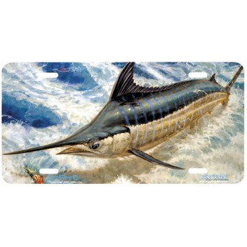 """Marlin Leap"" License Plate"